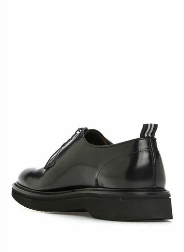 Green George Green George 101561760 Erkek Deri Bağcıklı Ayakkabı Siyah
